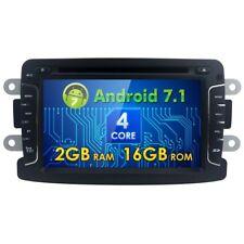 AUTORADIO Android 7.1 Dacia Duster Logan Sandero dokker Lodgy Renaut stereo GPS