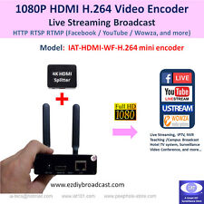 Portable WiFi HDMI H.264 encoder for RTMP Facebook Live YouTube IPTV live stream