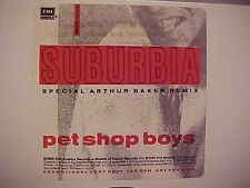 Pet Shop Boys Suburbia Rare Dj 12' Arthur Baker