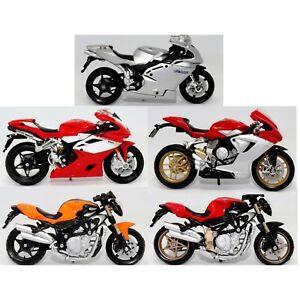 MV Agusta Various Superbike Motorbikes 1:18 Scale Die-cast Toy Model Motorcycle