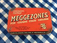 Vintage Meggezones Tin