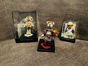Lot Of 3 Miniature World Of Bears