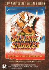 Blazing Saddles DVD TOP 500 MOVIE Mel Brooks COMEDY WESTERN BRAND NEW RELEASE R4