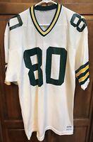 Sand Knit Green Bay Packers James Lofton 80 Jersey Men L USA Made Vintage