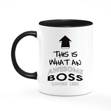 Awesome Boss Mug Gift For Boss Manager Thank You Present Funny Joke