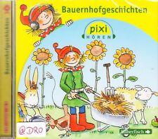 Original PIXI Hörbuch für Kinder + CD + Bauernhofgeschichten + Großer Hörspaß
