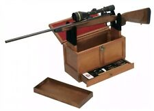 Gun Cleaning Toolbox - Rifle & Shotgun stand and cleaning supplies included