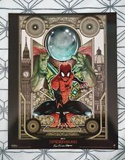 Marvel Spider-Man Far from Home Odeon Poster Mysterio environ A4, cinéma IMAX