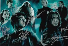 HARRY POTTER SIGNED 12x8 INCH / A4 SIZE LAB PRINTED PHOTO