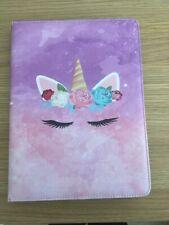 Kawaii Cute Unicorn Apple iPad Case Flip Cover Stand Expandable Fits All iPads