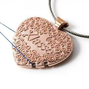 Rose Gold Yarn/Thread Cutter Pendant - Antique Style - Sew Easy Wool Crafts