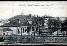MELUN (77) ECOLE NORMALE de JEUNES FILLES en 1916