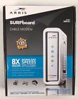 Motorola ARRIS SURFboard SB6141 DOCSIS 3.0 343MB Cable Modem, White For Parts