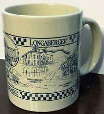 Longaberger Traditional Coffee Cup Mug ~ Excellent Condition