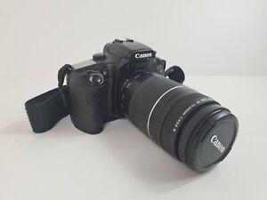 CANON SLR Film Camera EOS 33 + Telephoto Zoom Lens EF 75-300mm f/4-5.6 III JAPAN