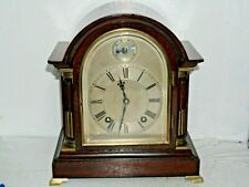 VERY BEAUTIFUL OLD BRACKET CLOCK RECENTLY SERVICED - L@@K