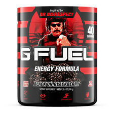 Gamma Labs G Fuel Black on Blackberry GFuel 40 Servings