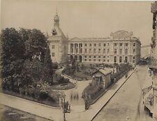 Toulouse Le Capitolel'Hôtel de ville Vintage albumine vers 1880