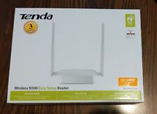 TENDA Wireless N300 Easy Setup Single Band and Ethernet Router - Model No. N301