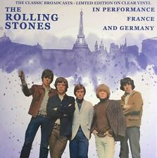 THE ROLLING STONES IN PERFORMANCE, FRANCE AND GERMANY VINILE LP CLEAR NUOVO