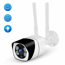 WiFi Outdoor Security Camera 1080P, 110°Wide Angle, Two-Way Audio, Motion Detect