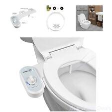 Bidet Toilet Seat Water Electric Attachment Non Spray Hot Cold Fresh Nozzle
