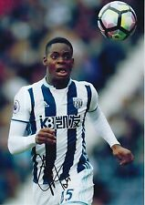 WEST BROM HAND SIGNED JONATHAN LEKO 12X8 PHOTO.