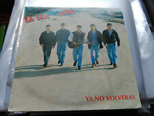 PROMO SINGLE SIDED LA LLAMADA - YA NO VOLVERAS - SALAMANDRA SPAIN 1993 VG+