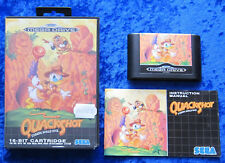 Quackshot Starring Donald Duck, OVP Anleitung, SEGA Mega Drive Spiel