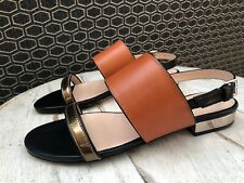 DESIGNER PAUL SMITH 'CLEO' HOLD CALF LEATHER SANDALS SIZE EU37 BNWB RRP £220