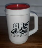 AP CHALLENGE PREMIUM MUFFLE LINE EXHAUST SYSTEMS Coffee Cup Mug NEW VTG thermos