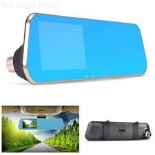 HD DVR Mirror Dash Cam Car Camera Video Recorder For Vehicles Front And Rear