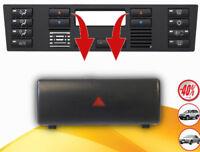 BMW E39 X5 E53 A/C Panel de control de aire acondicionado - Botón Caljente Rojo