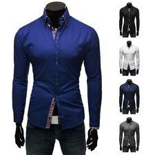 Vêtements chemises décontractées pour homme taille XL
