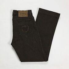 Max Mara weekend fit w28 tg 42 jeans donna straight dritti marrone usato  T1385 c27dbc72220