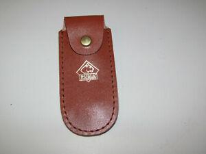 PUMA Etui Koppeltasche Echt Leder für Taschenmesser 9 cm PUMA Solingen .