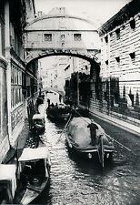 VENISE c. 1940 - Pont des Soupirs Italie - DIV 3310