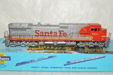 HO scale Athearn Santa Fe Ry WARBONNET GE C44-9W locomotive train