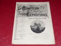 [REVUE EXPOSITION UNIVERSELLE 1900] LE MONITEUR DE 1900 N° 73 #  MARS 1900