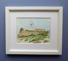 "Original Framed Watercolour ""The Round House""  Fremantle Western Australia"