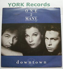 "ONE 2 MANY - Downtown - Excellent Condition 7"" Single A&M AM 476"