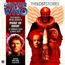 Doctor who big finish (CD)  - The lost stories - POINT OF ENTRY (new/sealed)