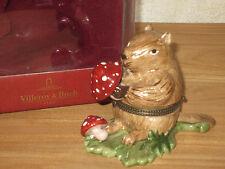 VILLEROY & BOCH *NEW* Winter Friends Marmotte / Boîte à Bijoux V&B