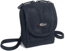 New OEM Lowepro Rezo 20 BLACK Compact Digital Camera Universal Bag Pouch Case
