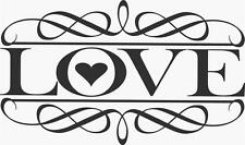 """LOVE Removable Sticker 