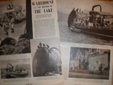 Photo article Switzerland test under water food storage 1940