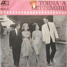 "BOBBY DARIN ""TORNA A SETTEMBRE""  raro 45' Italy GINA LOLLOBRIGIDA"