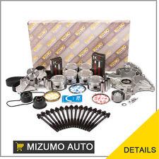 Fit 93-94 Ford Probe Mazda MX6 626 2.5 KL Master Overhaul Engine Rebuilding Kit