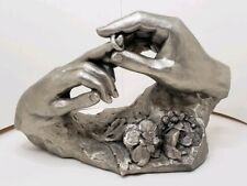 """Retro Austin Sculpture By David Fisher~""""The Ring"""" Life Size Hand Sculpture"""