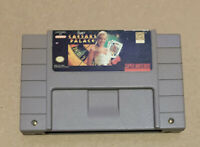 Super Caesars Palace - SNES Super Nintendo Game - Tested - Working!
